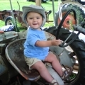Colin Does Love Tractors!