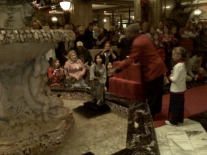 The Peabody Ducks Impatiently Awaiting Transport