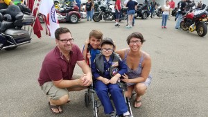 Officer Colin Honored by Southern Tier Honor Flight, Becomes Honorary Member of Patriot Guard
